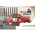 2 CV miniature Rouge Jules