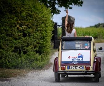Rallye Évasion dans le Médoc en 2CV