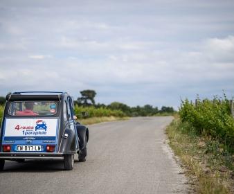Rallye Évasion à Saint Émilion en 2CV