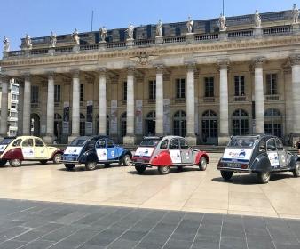 Rallye Tour du Monde en 2CV à Bordeaux