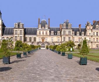 Rallye 2CV de Fontainebleau à Vaux le Vicomte