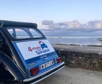 Rallye au Cap Ferret en 2CV