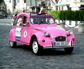 Rallye EVJF à Paris