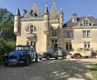 Rallye Évasion dans les Graves en 2CV