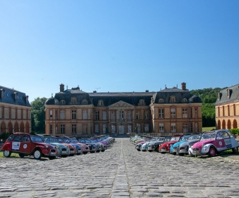 Rallye en Vallée de Chevreuse en 2CV
