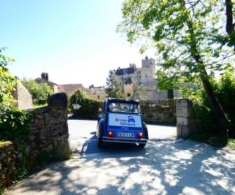 Rallye en Dordogne en 2CV