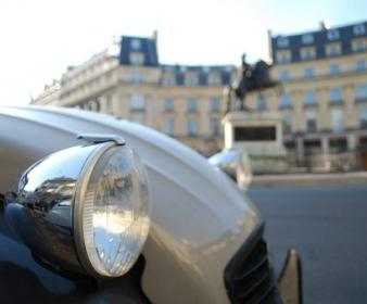 Rallye Les Coulisses de Paris en 2CV