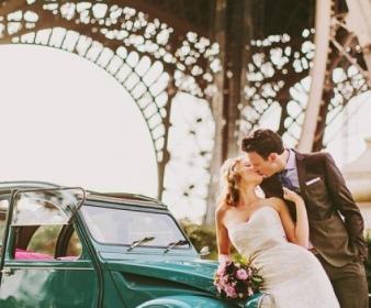 Matrimonio en 2CV