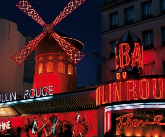 Package Virée Paris By Night 1h30 + Revue champagne au Moulin Rouge®