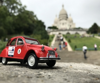 2CV Miniature Rouge - Jules
